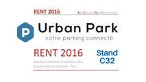 Urban Park, vous attends au Rent 2016 Grande Halle de la Villette à 75013 Paris le 8 et 9 novembre 2016 au stand C32, le salon pour les professionnels de l'immobilier avec les porteurs d'innovations.