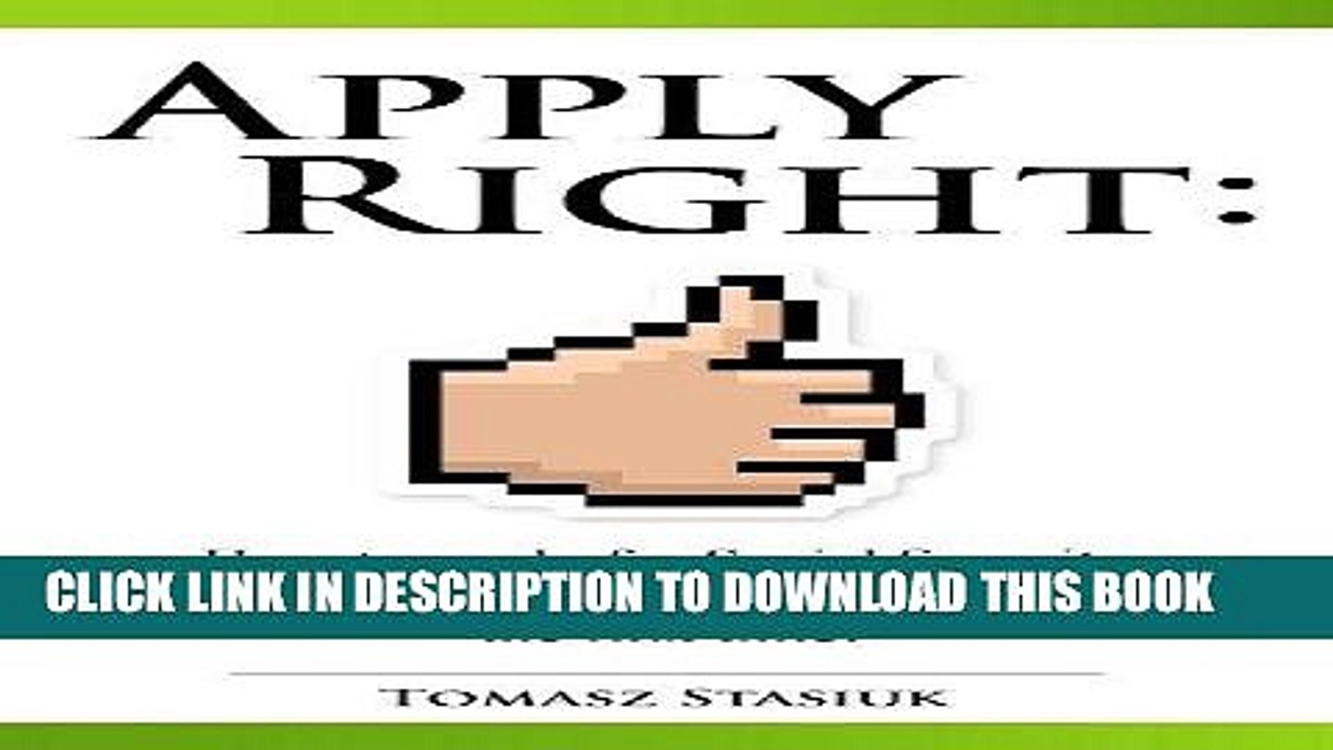 Read Now Apply Right: How to apply for Social Security disability online the right way the first