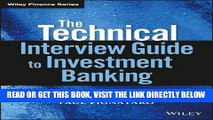[Free Read] The Technical Interview Guide to Investment Banking, + Website (Wiley Finance) Full