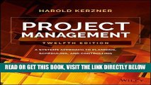 [Free Read] Project Management: A Systems Approach to Planning, Scheduling, and Controlling Full