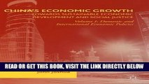 [Free Read] China s Economic Growth: Towards Sustainable Economic Development and Social Justice:
