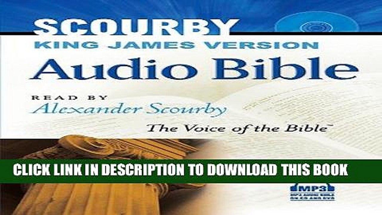 Ebook Scourby Audio Bible: King James Version Free Read