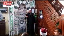 وزير الأوقاف فى خطبة الجمعة بغارب: لا يقع فى كون الله إلا ما أراده الخالق