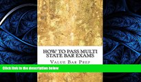 different   How To Pass Multi State Bar Exams: Pick The Correct MBE Answer 100%