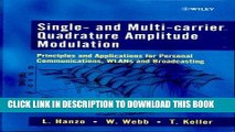 Read Now Single- and Multi-carrier Quadrature Amplitude Modulation : Principles and Applications