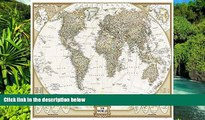 READ FULL  World Executive Poster Sized Wall Map (Tubed World Map) (National Geographic Reference