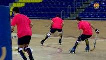 FCB Hoquei: Ricard Muñoz i Pablo Álvarez analitzen el debut a la Lliga Europea contra el Bassano