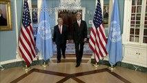 John Kerry meets Antonio Guterres in Washington