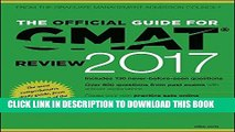 [Ebook] The Official Guide for GMAT Review 2017 with Online Question Bank and Exclusive Video