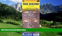 Big Deals  New Zealand 1:950,000 Travel Map  Best Seller Books Most Wanted