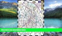 Big Deals  Streetwise Paris Metro Map - Laminated Subway Paris Map   RER System for Travel -