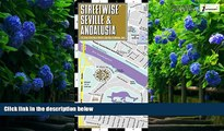 Books to Read  Streetwise Seville Map - Laminated City Center Street Map of Seville, Spain