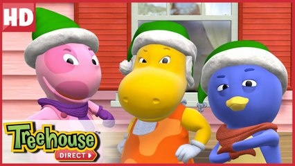 The Backyardigans are the Action Elves! Here to help Santa! | Treehouse Direct Clips