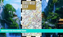 Books to Read  Streetwise Italy Map - Laminated Country Road Map of Italy - Folding pocket size