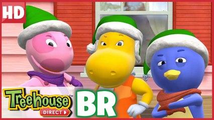 Os Backyardigans são os Elfos de Ação! Aqui para ajudar o Papai Noel!