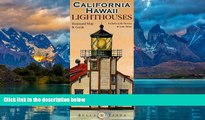 Books to Read  California   Hawaii Lighthouses Illustrated Map   Guide  Best Seller Books Best