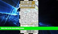 Must Have  Streetwise Washington DC Map - Laminated City Center Street Map of Washington, DC