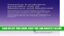 [FREE] EBOOK Keeping fraudulent providers out of Medicare and Medicaid: Hearing before the