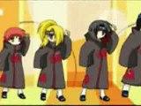 L'Akatsuki danse sur What does the fox say!