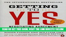 [EBOOK] DOWNLOAD Getting to Yes: Negotiating Agreement Without Giving In READ NOW