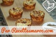 Petites Bouchées aux Pommes de Terre - Savory Potato Bites - بطاطس سوفلي بالجبن