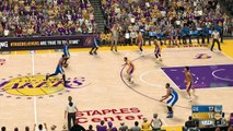 NBA 2K17 LOS ANGELES LAKERS vs GOLDEN STATE WARRIORS Gameplay HD NBA Match Preview Simulation