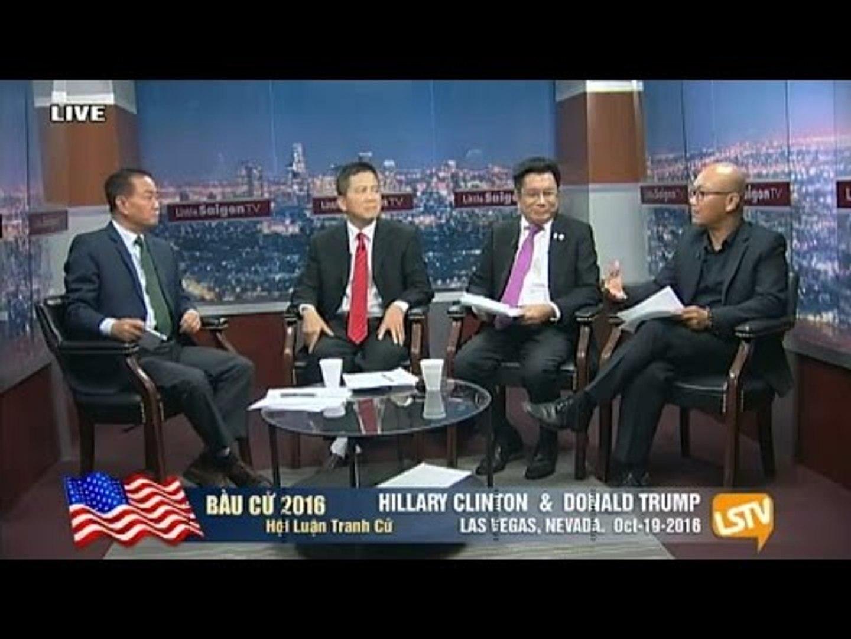 SÔI ĐỘNG BẦU CỬ MỸ 2016: Hội luận LIVE sau cuộc tranh luận Trump vs. Clinton