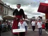 Défilé de Geants à Lessines (Belgique)