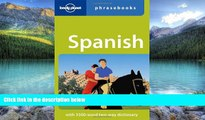 Books to Read  Lonely Planet Spanish Phrasebook  Full Ebooks Most Wanted