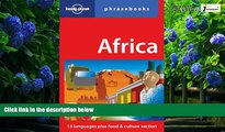Books to Read  Africa: Lonely Planet Phrasebook  Full Ebooks Most Wanted