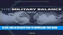 Ebook The Military Balance 2006 (Military Balance) Free Read