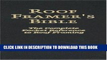 PDF Roof Framers Bible PDF Book Free - video dailymotion