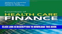 [FREE] EBOOK Essentials Of Health Care Finance ONLINE COLLECTION