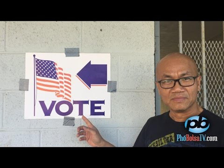 Dự đoán kết quả bầu cử 2016: ƯCV gốc Việt quận Cam