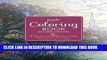 [FREE] EBOOK Posh Adult Coloring Book: Thomas Kinkade Peaceful Moments (Posh Coloring Books) BEST