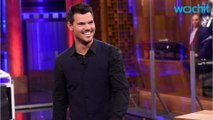 Taylor Lautner Meets Up With Mysterious Blonde
