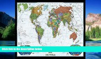 Must Have  World Decorator [Enlarged and Laminated] (National Geographic Reference Map)  READ