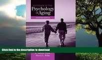 Read books  Handbook of the Psychology of Aging, Seventh Edition (Handbooks of Aging) online to buy