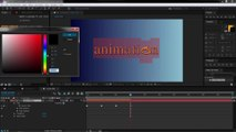 3 After Effects Text Animation - Animating Source Text