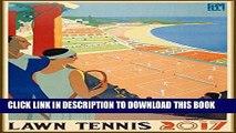 "Best Seller Wall Calendar 2017 [12 pages 8""x11""] Tennis Players Vintage Sport Ads Poster Advert"