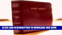 Ebook The Bible, Old and New Testaments, King James Version Free Read