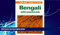 Big Deals  Bengali Phrasebook (Lonely Planet Phrasebook: India)  Full Ebooks Most Wanted