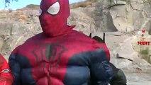 SuperHero Real Life Fight Batman Vs Spiderman And Ironman | Epic Battles Videos For Children