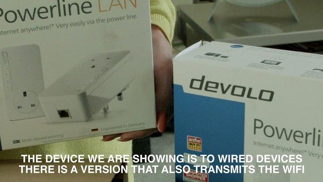 Slow Wifi, Wifi not working. Devolo Powerline Lan explained