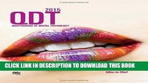 [READ] EBOOK Quintessence of Dental Technology 2015 (QDT) (Qdt Quintessence of Dental Technology)
