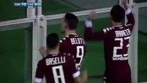 Andrea Belotti Goal - Torino vs Cagliari 1-0 - Serie A 05-11-2016