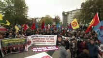 ZDF on demonstration of Kurds in Germany against Turkish government