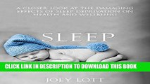 Read Now Sleep: Achieve Optimal Health, Get Lean, and Feel Great with a Powerful Plan for Better