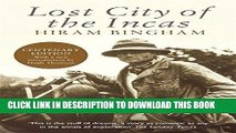 Ebook Lost City of the Incas (Phoenix Press) Free Read