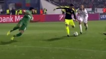 Mesut Ozil  Amazing Goal  Ludogorets vs Arsenal 2-3  _ Best Goals Ever Scored In Champions League-football highlights
